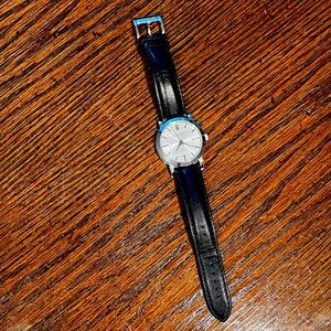 Burberry watch.